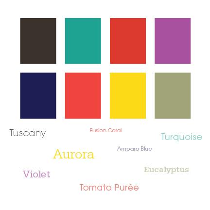 Spring 2010 Color Palette