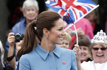 KateMiddleton-PonyTail